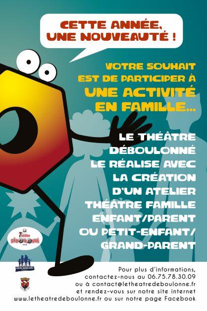 Atelier Théâtre Familles !